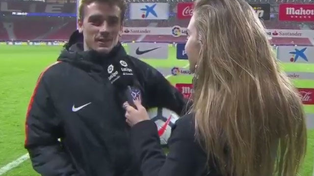 LALIGA   Atlético - Leganés (4-0): Griezmann: Me he equivocado en algunas palabras, pero nunca dentro del campo