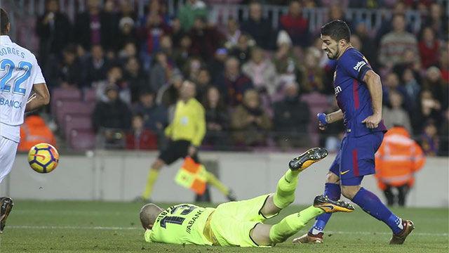 LALIGA | Barça - Deportivo (4-0): Suárez abrió el marcador