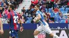 El Espanyol salvó un punto en el campo del Levante gracias a un gol de Baptistao