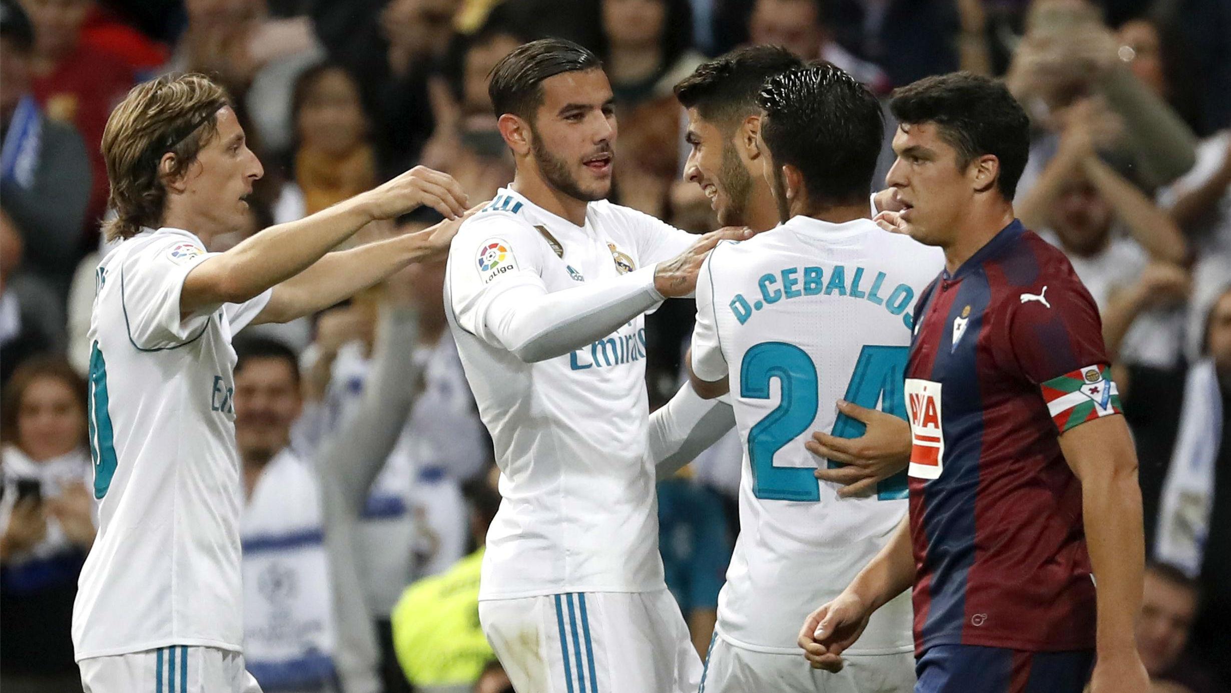 LALIGA   Real Madrid - Eibar (3-0)