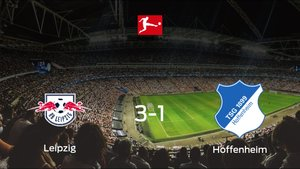 El RB Leipzig suma tres puntos a su casillero tras ganar al Hoffenheim (3-1)