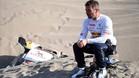 Loeb, muy decepcionado tras abandonar el Dakar