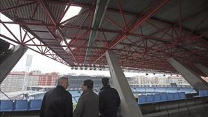 Los desperfectos de Balaídos obligaron a aplazar el Celta - Madrid