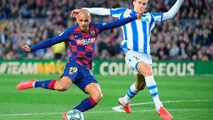 Martin Braitwhaite no cuenta con minutos de calidad en el FC Barcelona
