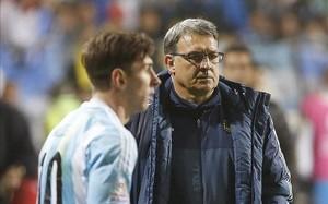 Martino podría lberar a Messi de Río 2016