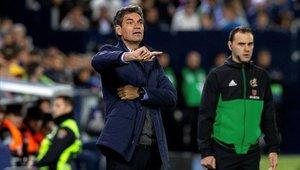 Mauricio Pellegrino se fue contento con el empate