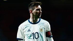 Messi no se divierte con Argentina