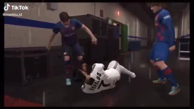 Messi y Griezmann protagonizan el Tik Tok más loco