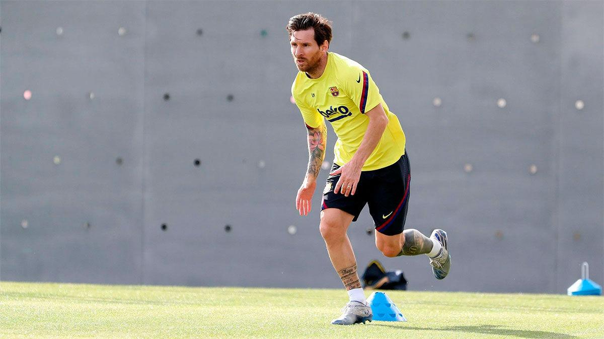 Messi habla con SPORT tras la vuelta a los entrenamientos