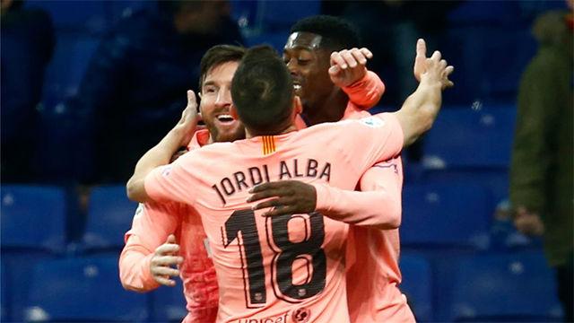 Messi luchó contra lo imposible y Dembélé puso la guinda