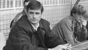 Mora, en el banquillo del Barça de Tercera