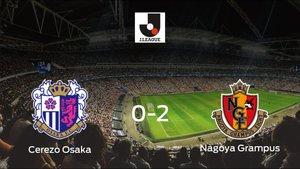 El Nagoya Grampus gana al Cerezo Osaka en el Yanmar Stadium Nagai (0-2)