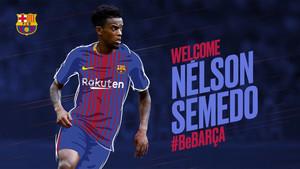 Nelson Semedo, nuevo fichaje del FC Barcelona 2017/18