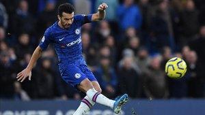 Pedro cumple su quinta temporada en el Chelsea