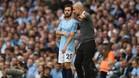 Pep Guardiola disfruta de su etapa de entrenador en la Premier League