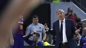 Pesic, en el clásico liguero en el WiZink Center de Madrid