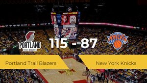 Portland Trail Blazers vence a New York Knicks (115-87)
