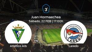 Previa del partido: el Laredo defiende su liderato ante el Atlético Albericia