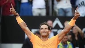 Rafa Nadal ganó en Roma y vuelve a ser número uno