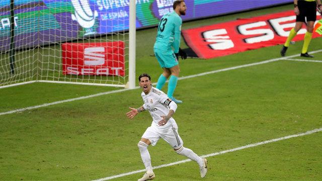 El Real Madrid, campeón por penaltis de la Supercopa de España