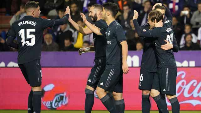 El Real Madrid salió vivo de Pucela