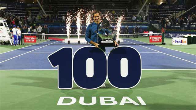 Retrospectiva a la carrera de Federer y su camino hasta los 100 títulos