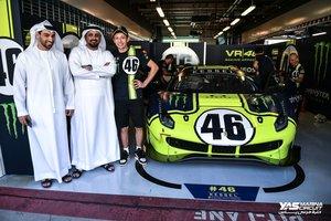 Rossi compite en Abu Dhabi con un Ferrari GT3 de Kessel Racing