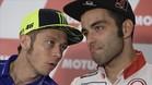 Rossi habla con su amigo Petrucci