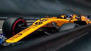 Sainz acabó sexto y suma ocho puntos más