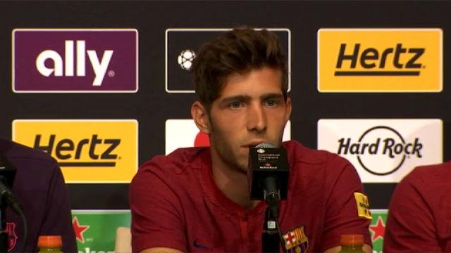Sergi Roberto: Esperaba ir al Mundial