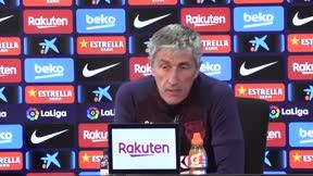 Setién confirma que Riqui no entrará en la convocatoria contra el Valencia