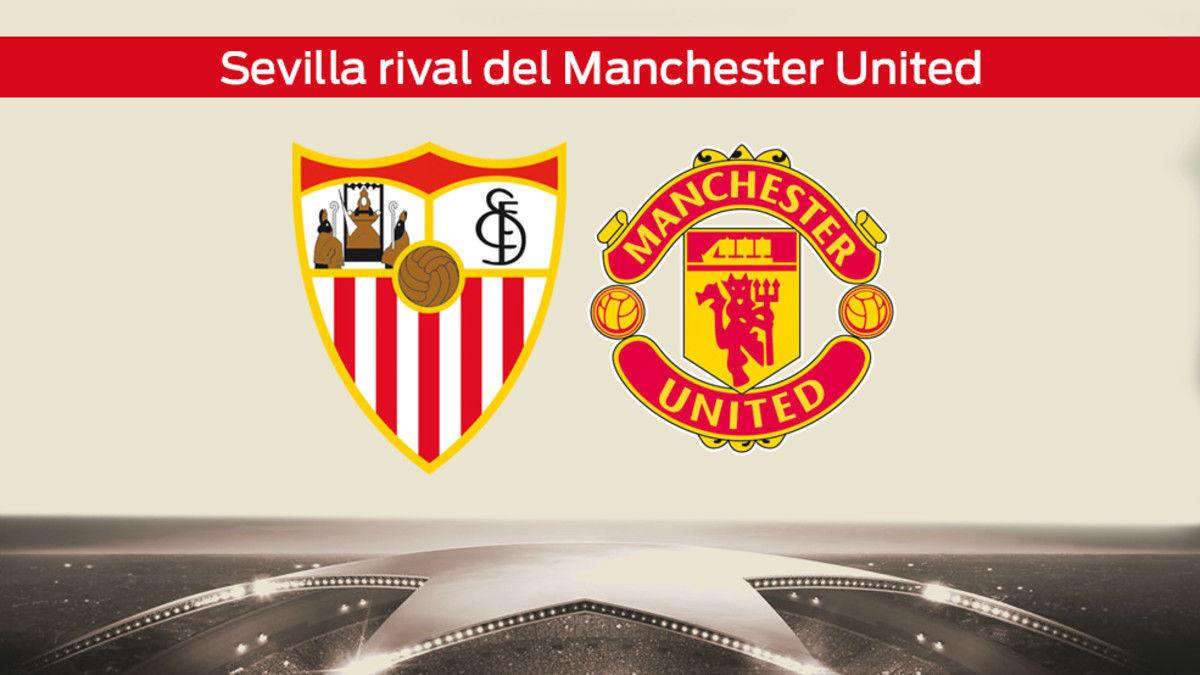 Sorteo de octavos de Champions League: Sevilla - Manchester United