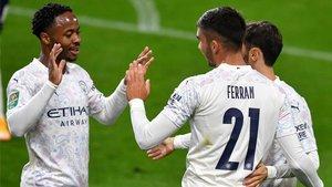 Sterling y Ferran marcaron para el City