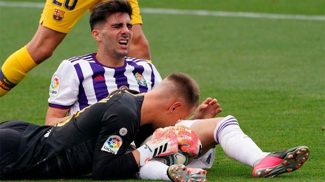 Ter Stegen volvió a ser el salvador del Barça