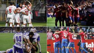 Todos los goles de la jornada 41 de la Liga 123