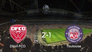 Triunfo del Dijon FCO por 2-1 ante el Toulouse