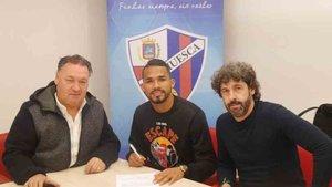 Yangel Herrera fichó por el Huesca