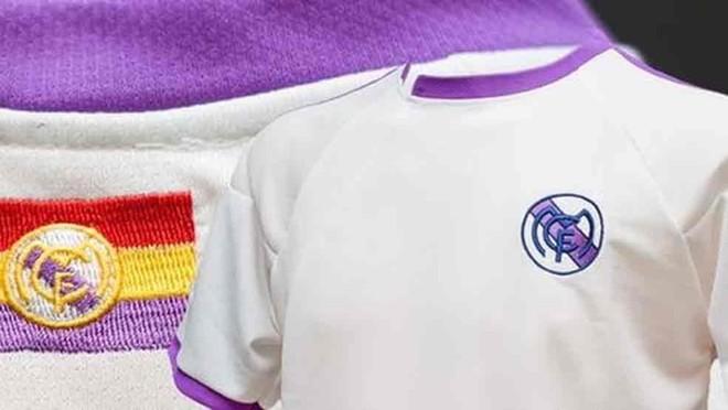 La camiseta 'republicana' del Real Madrid
