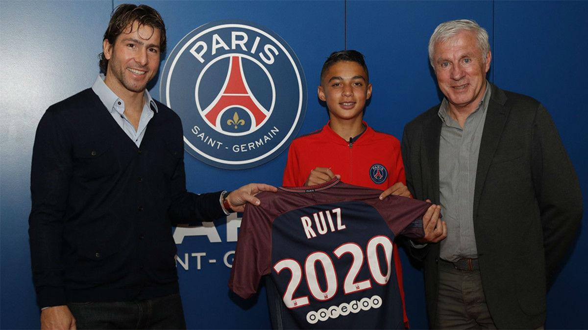 Kays Ruiz-Atil se queda en el PSG