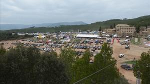 La Feria al lado de la finca Les Comes