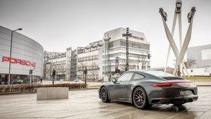 Planta de Porsche en Zuffenhausen.