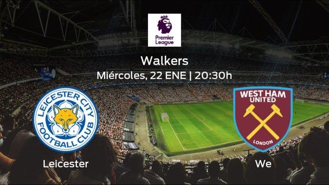 Previa del encuentro: el Leicester recibe al West Ham en la vigésimo cuarta jornada