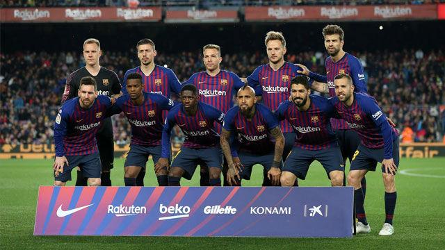 El 1x1 del Barça en la primera mitad ante la Real Sociedad