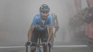 Alejandro Valverde, nuevo líder de la Ruta de Occitania