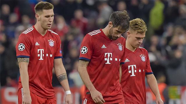 Así fue el 1-1 entre el Bayern y el Ajax