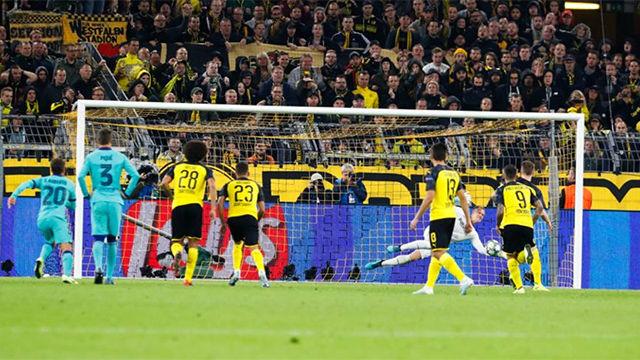 Así solucionó Ter Stegen el penalti cometido por Semedo: paradón y sangre fría