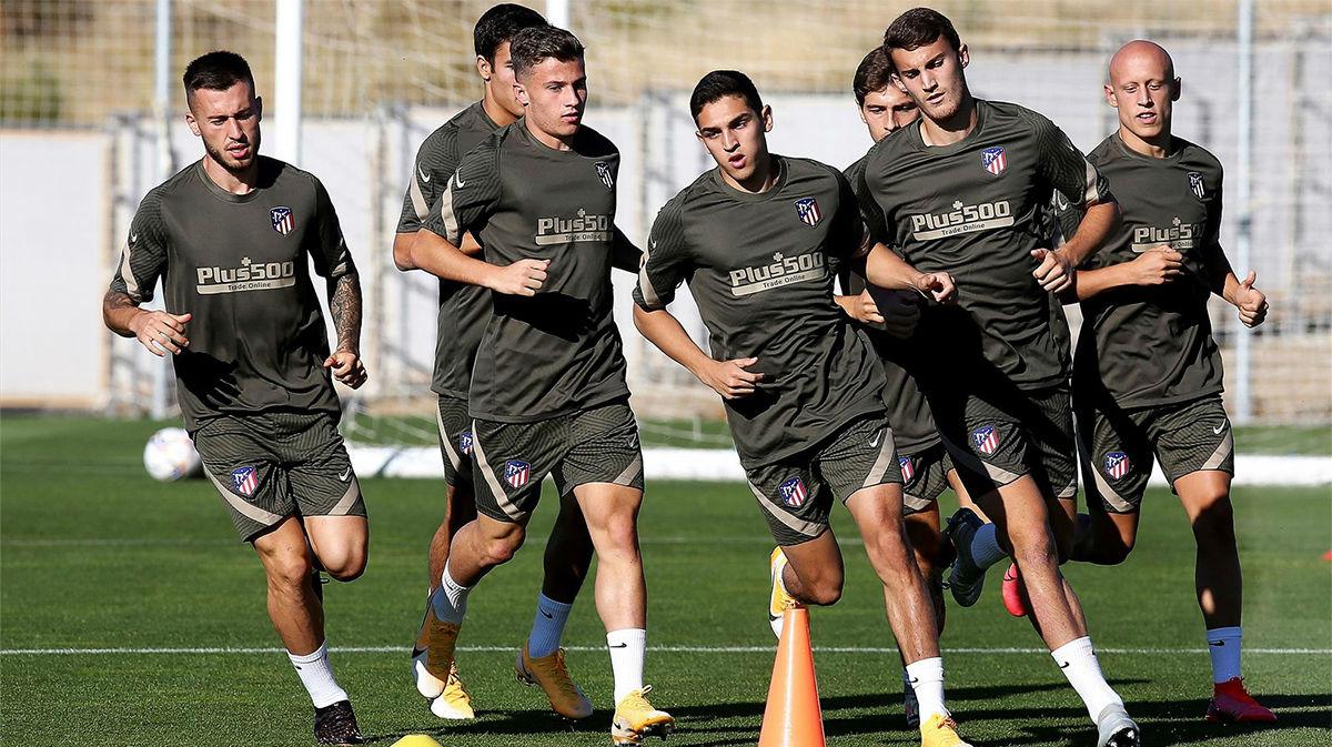 El Atlético retoma la pretemporada sin Simeone
