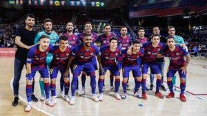 El Barça de fútbol sala estará una vez más en la lucha por el título de la Liga