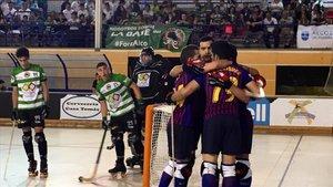 El Barça Lassa entra en la historia del hockey