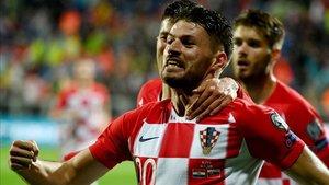 Bruno Petkovic, del Dinamo Zagreb, posible sustituto de Luis Suárez